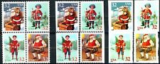 Santa & Children Set of 12 MNH Scott's 3004 to 3011 Christmas 1995