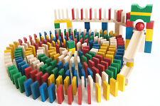 430 Dominosteine bunt Bausteine Holz Bauklötze Holzklötze Holzbausteine Domino