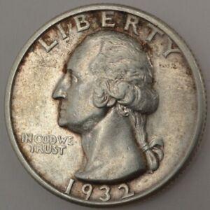 1932-S U.S. 25¢ - Washington Silver Quarter Dollar - EF+
