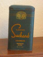 alte Blechdose Suchard Cacao 20'er Jahre  ca.15,5 cm x ca. 9 cm (2x) Frankreich