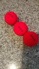 Volvik Vivid Red Golf Balls (3 balls)