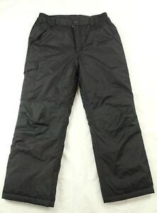 Kid's Ski Black Pants Snowboarding Size L (10/12)