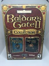 🐉 Forgotten Realms Baldur's Gate 2: The Collection - (PC 2003) w/ Free Shipping