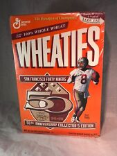 "# WHEATIES '96 San Francisco 49ers ""50th Anniversary""  Sealed"