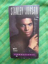 Rare Music VHS Video: STANLEY JORDAN-Cornucopia-1990-Acoustic-Solo-Electric-Cool