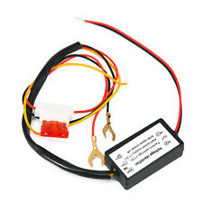 Mini Waterproof Cars LED Daytime Running Light Dimmer Controller Relay Harness