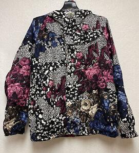 Analog Women's floral asset jacket 10K mm 5K g EUC