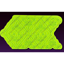 Filigree-Damask-Pattern Onlay Silicone Fondant Stencil by Marvelous Molds
