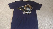 LOS ANGELES RAMS SHIRT SUPER SOFT SIZE MEDIUM NEW WITH TAGS MAJESTIC 3