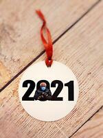 Bernie Sanders Funny Mittens Inauguration 2021 Ornament