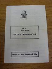 14/08/1993 ALVIS SGL V Fairfield Villa [1st MIDLAND combinazione GIOCO] (4 pagine).