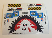 GI Joe Tiger Force Tiger Fly Sticker Decal Sheet