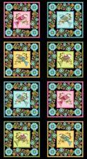 """RJR Lori's Art Garden by Lori Gardner Woods 3242 002 - 24""""  Panel  COTTON"""