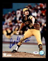 Bert Blyleven PSA DNA Coa Hand Signed 8x10 Pirates Photo Autograph