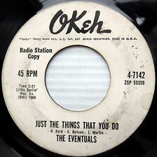 EVENTUALS orig.Okeh PROMO 45 Just the things that you do / Charlie Chan F2136