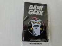 BAM BOX AQUA TEAM HUNGER FORCE ENAMEL PIN  Brand New