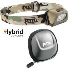 Petzl TACTIKKA+ Stirnlampe Camouflag - max. 250 Lumen inkl. Petzl POCHE Tasche