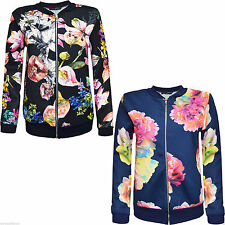 Unbranded Zip Floral Coats & Jackets for Women