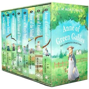 Anne of Green Gables The Complete Collection 8 Books Box Set by L. M. Montgomer