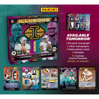 2020 PANINI ILLUSIONS FOOTBALL HOBBY BOX FACTORY SEALED IN STOCK FREE SHIPPING
