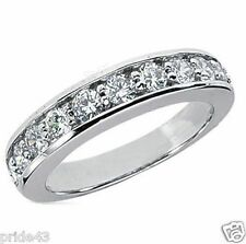 1.20 carat Round Diamond Anniversary Ring Wedding Band 11 x 0.11 ct each F color