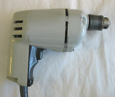 "Vintage Black & Decker 3/8"" Corded Electric Single Speed Drill w/ Ridgid Chuck"