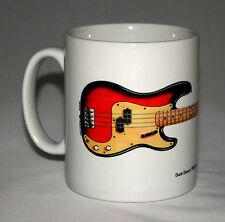 Guitar Mug. Duck Dunn's 1958 Fender Precision Bass illustration.