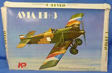 RARE KP CZECHOSLOVAKIAN AVIA BH-3 FIGHTER PLASTIC MODEL AIRPLANE KIT
