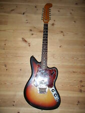 FENDER 1965  ELECTRIC  XII 12 STRINGS GUITAR ORIGINAL SUNBURST W/ HC From JAPAN