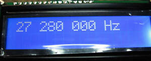 FREQUENCY COUNTER 99 MHZ 1 HZ RESOLUTION