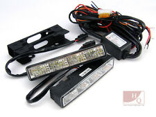DRL Daytime Running Lights HQ CIT04 LED Front Driving LAMPS RL00 CE E4 - LEGAL