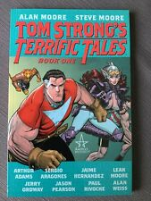 Tom Strong's Terrific Tales Book 1 Tpb New Alan Moore, Adams, Hernandez, Ordway