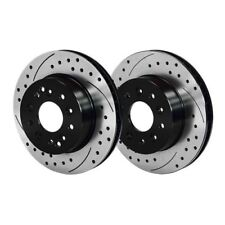 Wilwood 140-11727-D Promatrix Replacement Front and Rear Rotor Kit, For Corvette