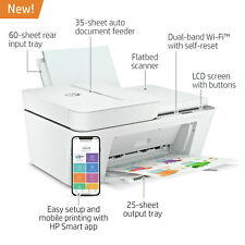 HP DeskJet Plus 4155 Wireless All-in-One Color Inkjet Printer  Instant Ink Ready