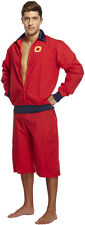 MENS BAYWATCH STYLE BEACH PATROL LIFE GUARD COSTUME FANCY HOFF HALLOWEEN OUTFIT