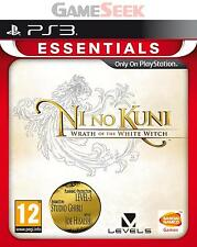 Ni No Kuni-Wrath of the White Witch-Essentials-Playstation PS3 Nagelneu