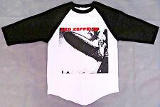 LED ZEPPELIN T-shirt Album Cover Raglan Baseball Tee Adult Men 3/4 Sleeve New