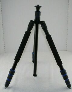 Ravelli APGL5 Black Camera Video Photo Tripod (Missing Ball Head) Just Body