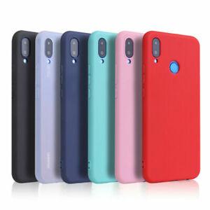For Huawei Mate 30 20 P20 P30 Pro lite Thin Soft TPU Skin Slim Matte Case Cover