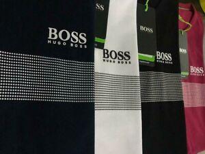 Hugo Boss Short Sleeve Modern Fit Dotted Crew Neck  t shirt