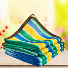 Customize 85% UV Colorful Shade Cloth Taped Edge with Grommets