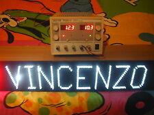 SCRITTA LUMINOSA a LED per CAMION a 12 o 24 V con altezza dei caratteri 10 cm