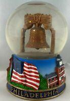 "Collectible Snow Globe - Philadelphia Liberty Bell 3.75 x 2.5"""