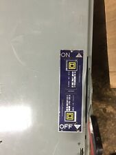 Square D Company 400 AMP 3 Pole 240Volt AC. Fuseable Panelboard.