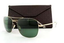 Brand New GUCCI Sunglasses 2262/S J5G 85 Gold/Green for Men