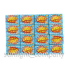 SUPER LOUD Noisemaker Favors Party Snaps Pops 5 Boxes (250 Snap Bags)