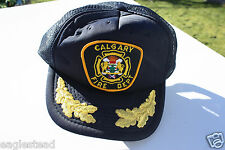 Ball Cap Hat - Calgary Fire Department - Alberta Canada (H1267)