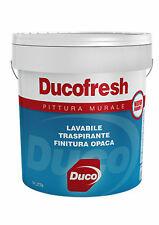 PITTURA MURALE LAVABILE TRASPIRANTE DUCOFRESH NUOVA FORMULA 750 ml