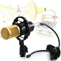 Professional-Sound Studio Dynamic Mic +Shock Mount BM800 Condenser Microphone Jð