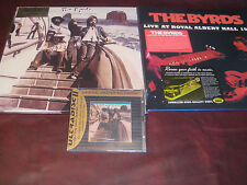 THE BYRDS UNTITLED 180 GRAM  3 LP SET + MFSL 24K CD + LIVE ALBERT HALL 1971 2LPS